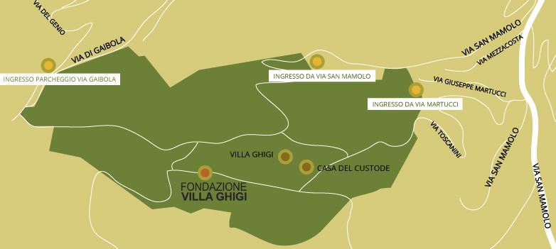Villa Ghigi Bologna Come Arrivare