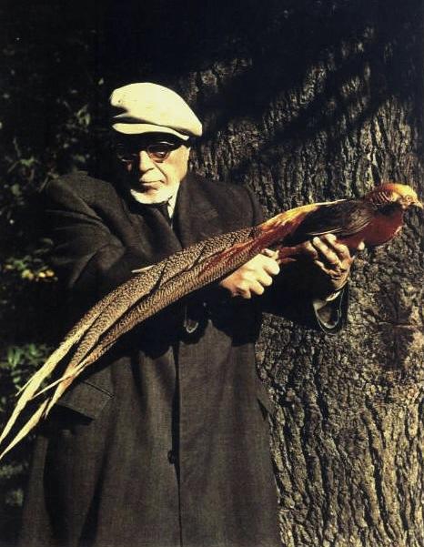 Alessandro Ghigi col fagiano